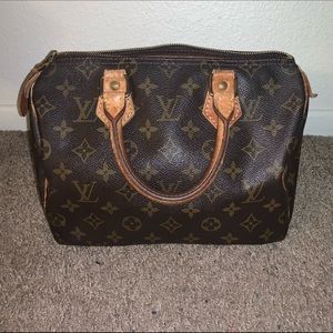 💯 AUTHENTIC Louis Vuitton Speedy 25